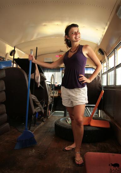 MAYD HUBB & HOBO/MONK AMERICAN TOUR: Concerti e lavori sullo Schoolbus