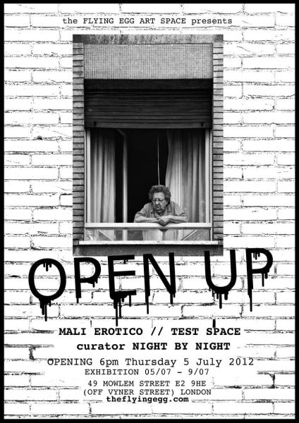 OPEN UP Exhibition in London (UK)