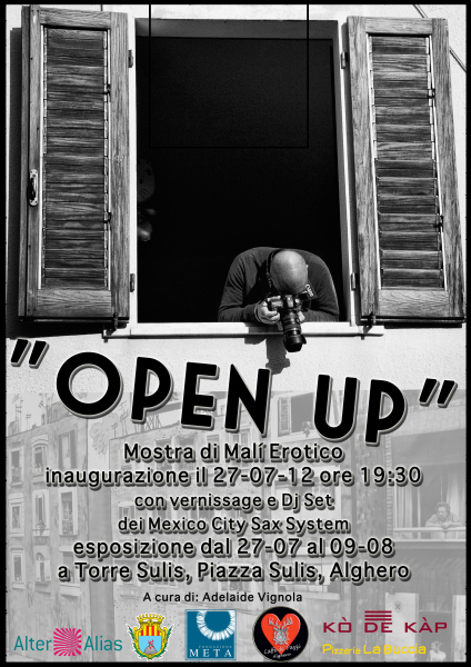 OPEN UP Exhibition in Alghero