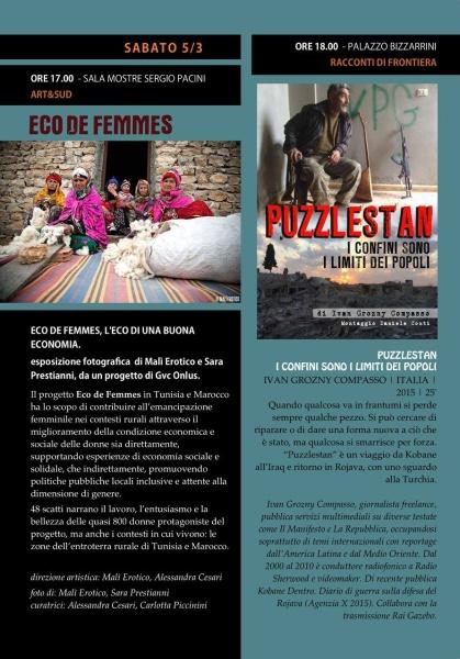 "Mostra ""Eco de Femmes"" @ Destinazione Sud Festival"