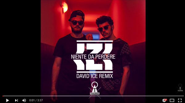 My pic for DAVID ICE x IZI – NIENTE DA PERDERE (THAURUS RMX)