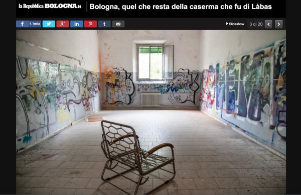 Reportage su La Repubblica: Ex-Làbas un anno dopo