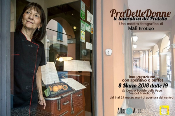 Mostra 8 marzo: PraDelleDonne